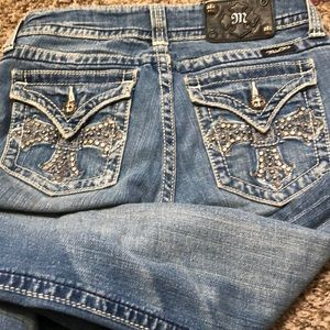 """Miss me jeans size 28 bootcut inseam 32"""""""